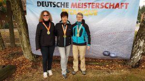 Trio Deutsche Meisterschaft Ehrung
