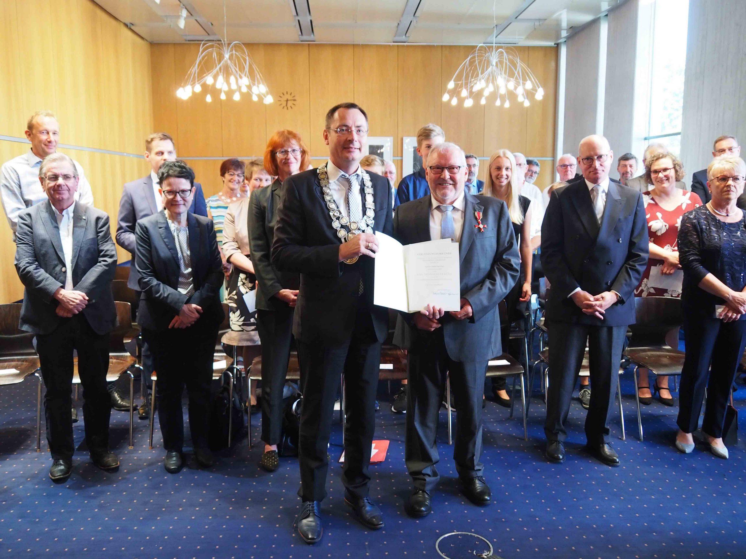 Verleihung Bundesverdienstkreuz Gerichtsvollzieher